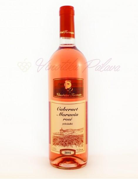 Cabernet Moravia rosé 2015
